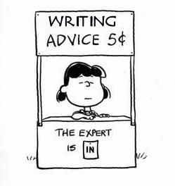 Lucy-gives-writing-advice