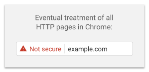 Google-not-secure-warning